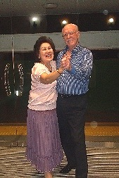 June and Kay - Ballroom Dancing Photos